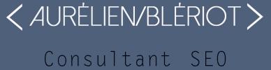 Aurélien Blériot - Consultant & SEO Manager
